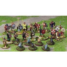Saga Irish Warband - 4pt