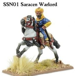 SSN01a Saracen Mounted Warlord (Unarmoured)