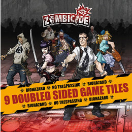 Zombicide - Season 1 Game Tiles