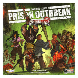 Zombicide - Prison Outbreak - Core Board Game