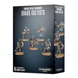 Easy to Build: Chaos Space Marine Cultists