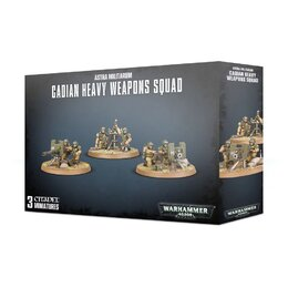 Cadian Heavy Weapons Squad