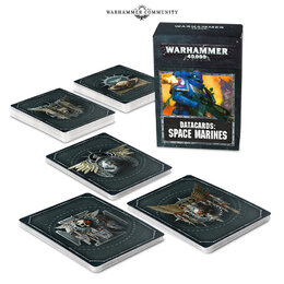 Datacards- Space Marines 2019
