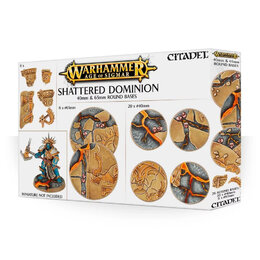 AOS: Shattered Dominion: 65 & 40mm Round Bases