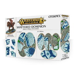 AOS: Shattered Dominion: 60 & 90mm Oval Bases