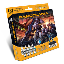 Infinity Paint Set by Vallejo - Panoceania