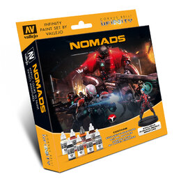 Infinity Paint Set by Vallejo - Nomads