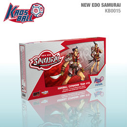 Kaos Ball New Edo Samurai