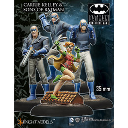 Carrie Kelley and the Sons of Batman Crew