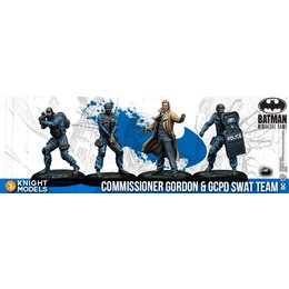Commissioner Gordon & GCPD SWAT Team