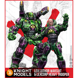 Lex Luthor Armour and Heavy Trooper Multiverse