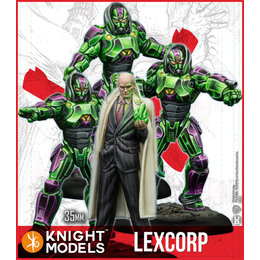 Lex Luthor and Lexcorp Heavy Troopers Multiverse