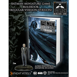 Batman Game Rulebook w/Ltd Edition Alfred Pennyworth