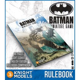 Batman Game Rulebook Second Edition
