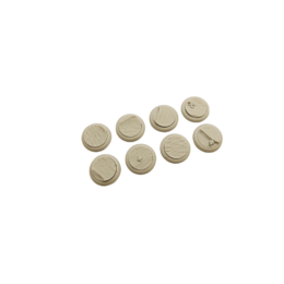 Desert Bases Round Lipped 30mm