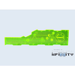 Infinity - Range Card - Inches (Green)