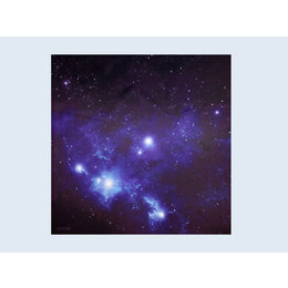 Gaming Mat Blue Space - 36in x 36in