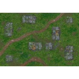 Gaming Mat Outpost - 72in x 48in