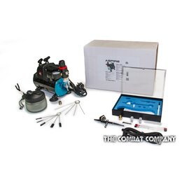Modifx Airbrush & TC908 Compressor Package