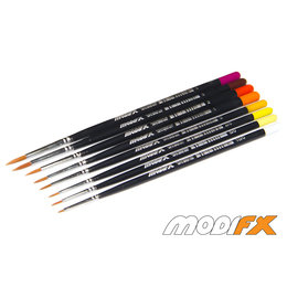 Modifx Round Synthetic Brush Set