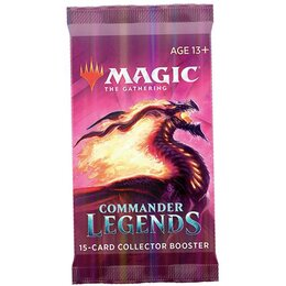 Magic Commander Legends Collector Booster Pack