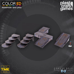 Ramps and Stairways Set (ColorEd)