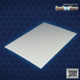 TME Hexagonal PVC Sheet - 2mm