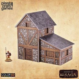 Two Storey Medieval Dwelling (ColorEd)