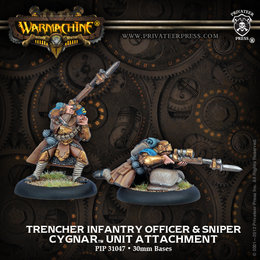 Trencher Infantry Officer & Sharpshooter Unit Attachment
