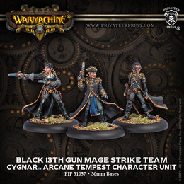 Black 13th Gun Mage Strike Team - Old