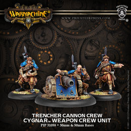 Trencher Cannon Unit