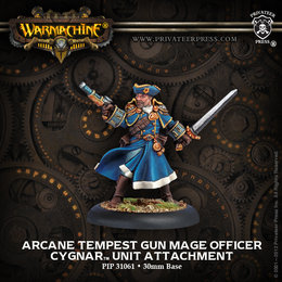 Arcane Tempest Gun Mage Officer Unit Attachment
