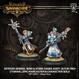 Artificer General Nemo & Adept Caitlin Finch