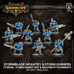 Stormblade Infantry and Storm Gunners