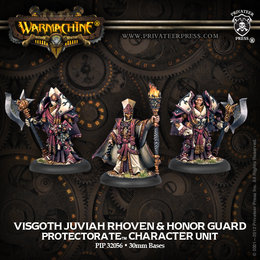 Visgoth Juviah Rhoven and Honor Guard Unit