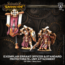 Exemplar Errant Officer & Standard Unit Attachment