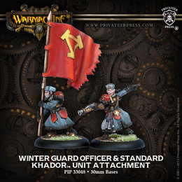 Winter Guard Officer and Standard Unit Attachment