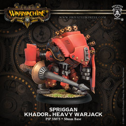 Demolisher / Devastator / Spriggan Heavy Warjack