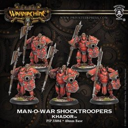 Man-O-War Shocktroopers Unit