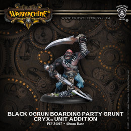 Black Ogrun Boarding Party Grunt