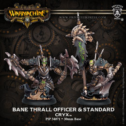 Bane Thrall Officer & Standard Bearer Unit Attachment