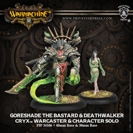 Privateer Press Warmachine Cryx Lich Lord Asphyxious