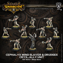 Cephalyx Mind Slaver & Drudges Ally Unit