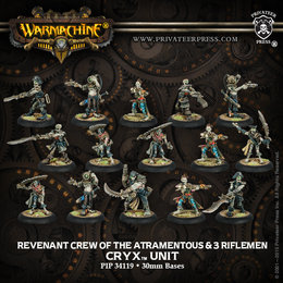 Revenant Crew Unit w/3 Riflemen