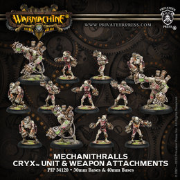 Mechanithralls Unit w/3 Weapon Attachments