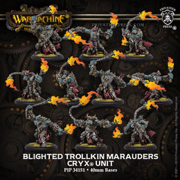 Blighted Trollkin Marauders