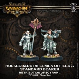 Houseguard Rifleman Officer and Standard Unit Attachment