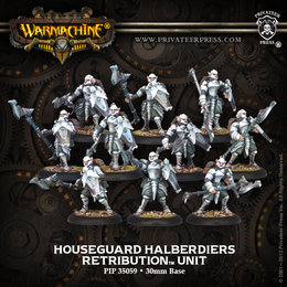 Houseguard Halberdiers Unit