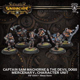Captain Sam Machorne & the Devil Dogs Min Unit