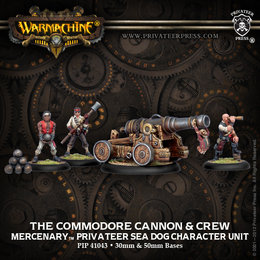 Commodore Cannon & Crew Unit